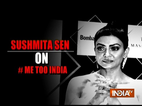 Sushmita Sen is proud of the women who have told their #MeToo stories