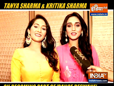 Sisters Tanya and Kritika Sharma talk about reality show 'Dance Deewane'