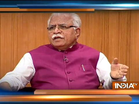 Aap Ki Adalat: A person is innocent until proven guilty, says Khattar on seeking support from Ram Rahim