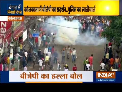West Bengal: 'Nabanna Chalo' agitation turns violent in Kolkata