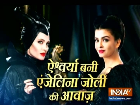 Aishwarya looks stunning in black at the trailer launch of 'Maleficent: Mistress of Evil'