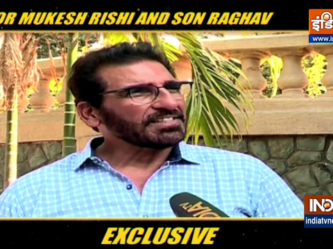 Actor Mukesh Rishi and son Raghav say they have better understanding of COVID now