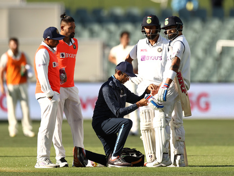 Pink-Ball Test, Day 1: Under pressure India struggle to 107/3 at tea as Pujara falls