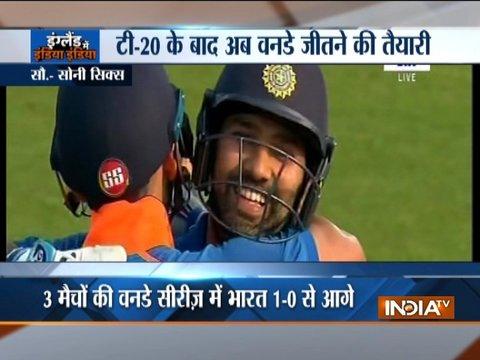 India vs England, 1st ODI: Kuldeep Yadav, Rohit Sharma star in India's 8-wicket win in Nottingham