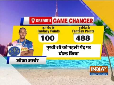 IPL 2020, मैच 30: धवन, अय्यर ने अर्द्धशतक लगाकर दिल्ली को राजस्थान पर 13 रनों से जीत दिलाई