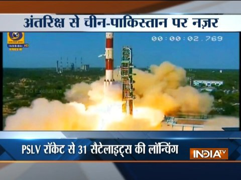 ISRO to launch 100th satellite today