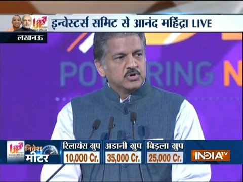 Anand Mahindra announces to invest Rs 200 cr in Varanasi in infrastructure projects
