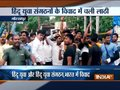 Two Hindu Yuva Vahini group clash in Gorakhpur, claim themselve as real and the other as fake