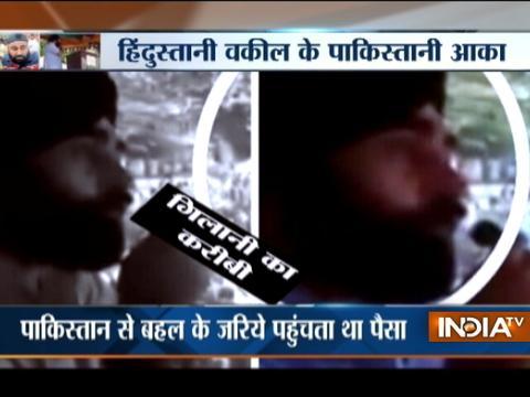 Hurriyat leader chant an Anti-India slogan in JK, Deputy CM assures of action