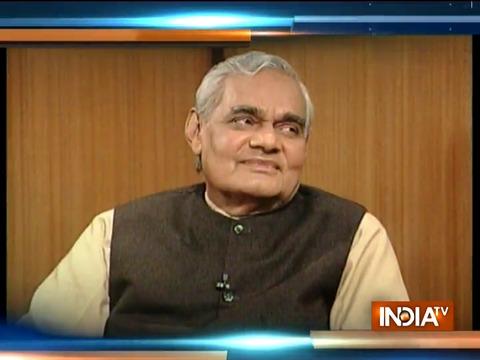 RIP Atal Bihari Vajpayee: Former PM has interesting revelations about himself on Aap Ki Adalat