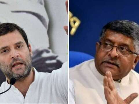 Ravi Shankar Prasad slams Rahul Gandhi for questioning India's 'vaccine maitri' move