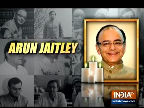 सभी पार्टीयो के शीर्ष नेताओ ने पूर्व केंद्रीय वित्त मंत्री अरुण जेटली को दी श्रद्धांजलि