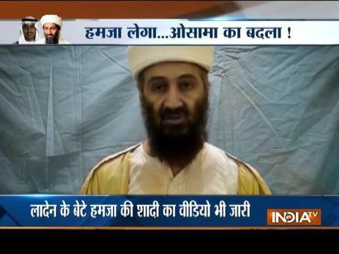 Never-before-seen footage of Osama bin Laden's son Hamza