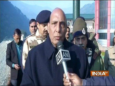 We are proud of our brave jawans, their sacrifice won't go in vain: Rajnath Singh