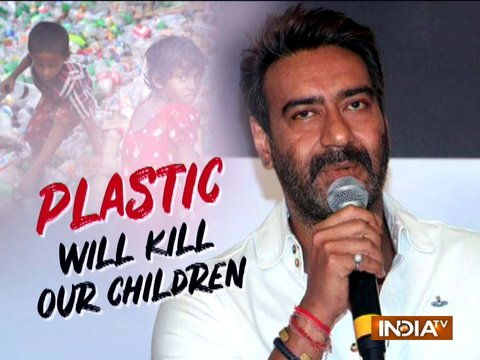 Ajay Devgn is happy with ban on plastic