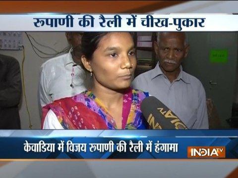 Martyred BSF jawan daughter stopped from meeting Gujarat Chief Minister Vijay Rupani