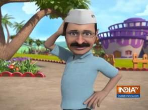 OMG: दिल्ली के मुख्यमंत्री अरविंद केजरीवाल ने गाया जीत का गीत