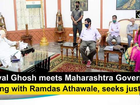 Payal Ghosh meets Maharashtra Governor along with Ramdas Athawale, seeks justice