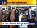 Priyanka Gandhi Vadra spotted holding 'Rudraksh ki Mala' on arrival at airport in UP