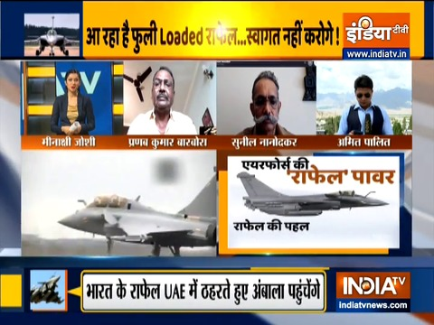 France to Ambala: First batch of Rafale fighters to travel 7364 km to arrive in India