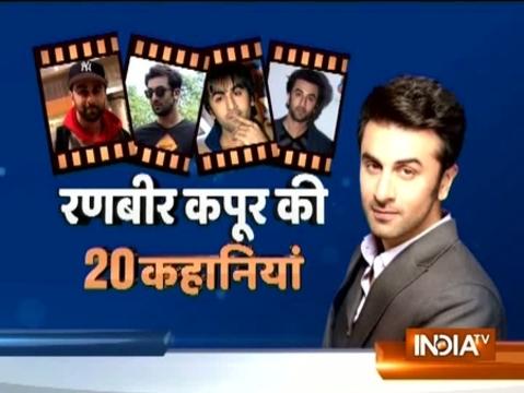Watch 20 stories of flavour of the season actor Ranbir Kapoor