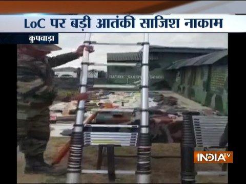 सुरक्षा बलों ने जम्मू-कश्मीर के केरन सेक्टर में घुसपैठ के प्रयास को विफल किया