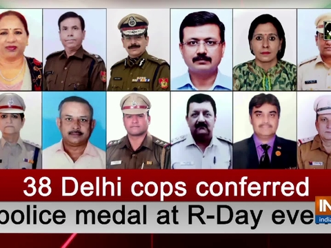 38 Delhi cops conferred police medal at R-Day event