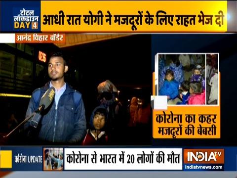 कोरोना वायरस महामारी: भारत में कुल पॉजिटिव मामले 800 के पार, 1000 मजदूर यूपी से दिल्ली के लिए हुए रवाना