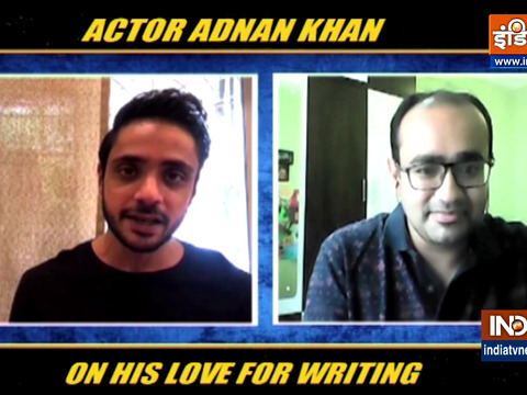 EXCLUSIVE | Actor Adnan Khan talks about his love for writing