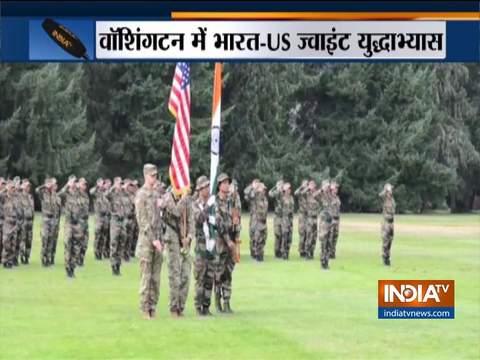 वाशिंगटन में भारत-अमेरिका ने किया संयुक्त युद्धाभ्यास