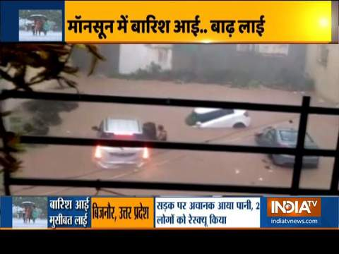 Heavy rain triggers flood-like situation and landslide in parts of the country