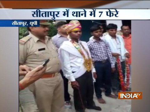 UP: Sitapur man marries girl in police station, refuses to take dowry