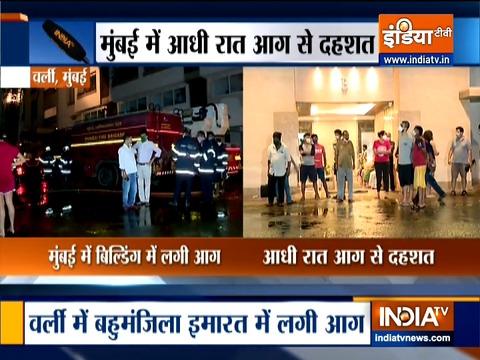 Mumbai: Fire reported at Worli high-rise