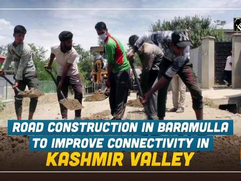 Road Construction in Baramulla to improve connectivity in Kashmir valley