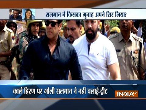 Simi Garewal believes Salman Khan trying to save the real culprit in Blackbuck poaching case?