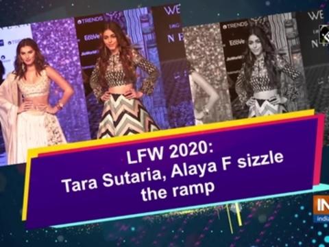 Tara Sutaria, Alaya F sizzle the ramp