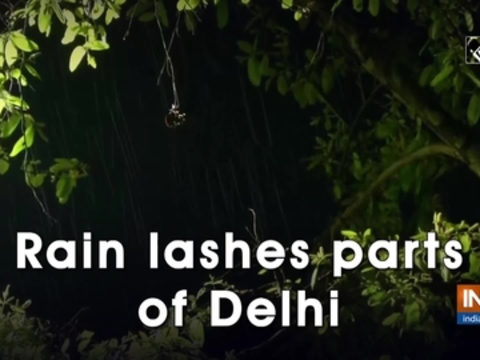 Rain lashes parts of Delhi