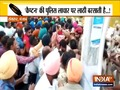 Conflict between police and teacher in Sangrur, Punjab