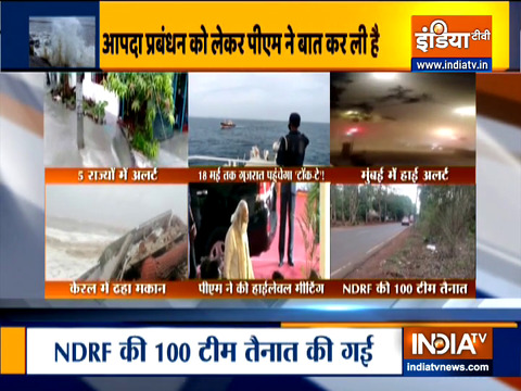 Cyclone Tauktae intensify likely to cross Gujarat coast between Porbandar