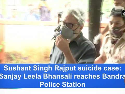 Sushant Singh Rajput suicide case: Sanjay Leela Bhansali reaches Bandra Police Station