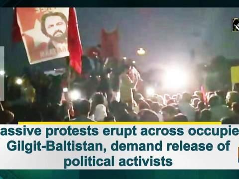 Massive protests erupt across occupied Gilgit-Baltistan, demand release of political activists