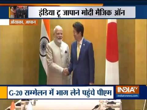PM in Japan: जापान के प्रधानमंत्री शिंजो आबे ने दी मोदी को शुभकामनाएं, कहा जल्द आउंगा भारत