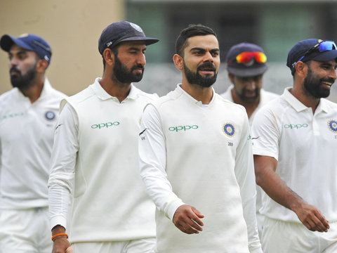 India's 15-man Test squad against West Indies