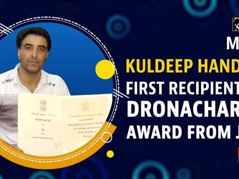 Meet Kuldeep Handoo first recipient of Dronacharya Award from JandK