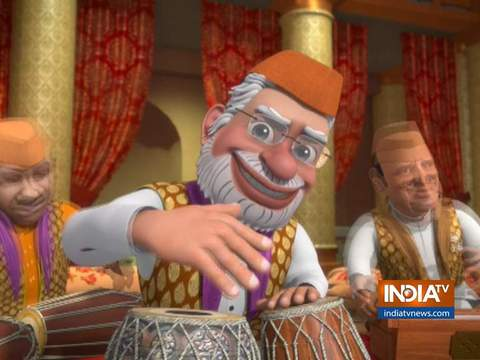 OMG: PM Modi's musical attack on Congress