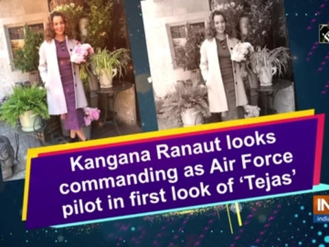Kangana Ranaut looks commanding as Air Force pilot in first look of 'Tejas'