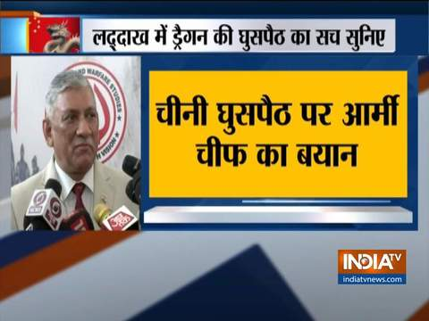 No intrusion by Chinese in Ladakh, says Army chief Bipin Rawat