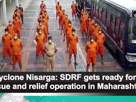 Cyclone Nisarga: SDRF gets ready for rescue and relief operation in Maharashtra