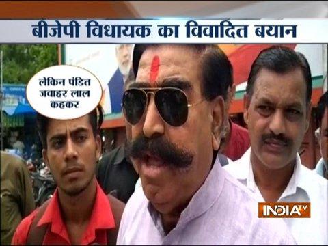 Nehru was not a 'pandit', he ate beef, pork: BJP MLA Gyan Dev Ahuja