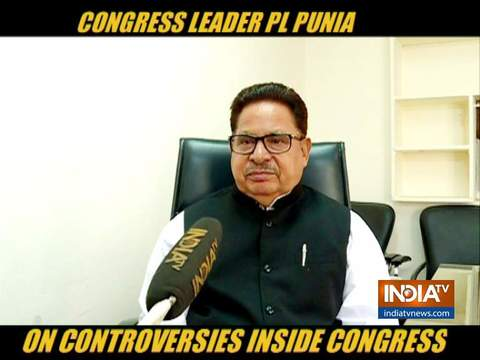 Congress leader PL Punia advises party leaders to keep their thoughts in party forum first
